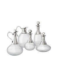 Glass Decanter Set of 5 | Eichholtz Branklyn