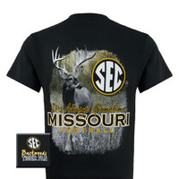 Missouri Tigers MU Mizzou Gametime Deer Unisex Bright T-Shirt