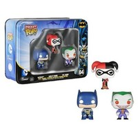 Funko Batman DC Comics Pocket Pop! Mini Vinyl Figure 3-Pack Tin