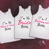 Bride Bridesmaids Maid Of Honor
