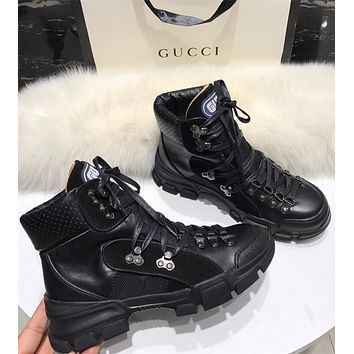 GUCCI Flashtrek high-top sneaker