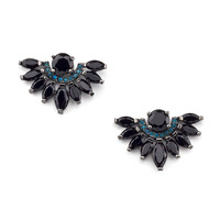 Black Zirconia Earrings