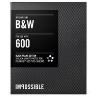 Impossible PRD2804 Black and White Film for Polaroid 600-Type Camera Frame (Black)