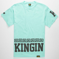 Last Kings Street King Mens T-Shirt Mint  In Sizes