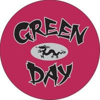 Green Day- Dragon pin (pin579)