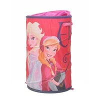 Disney's Frozen Anna & Elsa Pop-Up Laundry Hamper (White)
