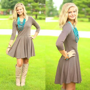 Chasing Chevron Tunic Dress