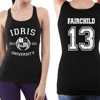 Fairchild 13 Idris university Women Tanktop Black
