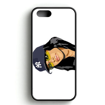 Aaliyah Vector iPhone 4s iPhone 5s iPhone 5c iPhone SE iPhone 6|6s iPhone 6|6s Plus Case