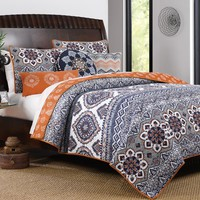 Farragutt Reversible Quilt Set