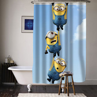 despicable me minion special custom shower curtains available size