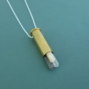 moonstone cluster bullet necklace sterling silver chain