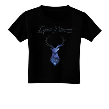 Expecto Patronum Space Stag Toddler T-Shirt Dark