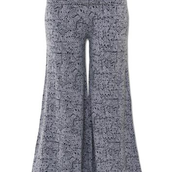 NEW! Geo Organic Crop Funky Pants