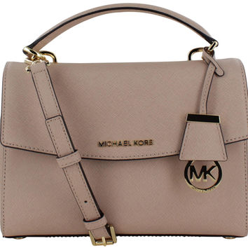 Michael Kors Ava Women's Leather Satchel Handbag Bag