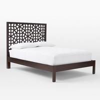 Morocco Bed - Chocolate