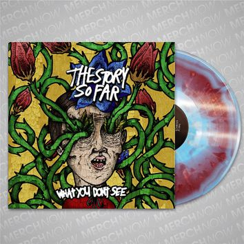 What You Don't See Cotton Candy Splatter LP : MerchNOW