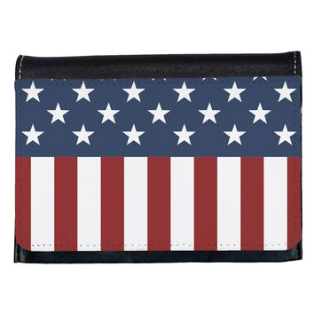 Stars and Stripes American Flag Ladies Wallet All Over Print by TooLoud