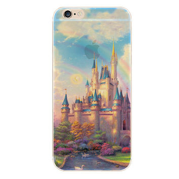 My Dream Castle iPhone 5S 6 6S Plus creative case + Gift Box-127