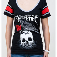 Bullet For My Valentine Hockey Junior Fitted Tee