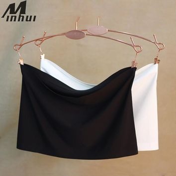 Minhui 2017 New Women Seamless Tube Top Strapless Bralette Bandeau Top