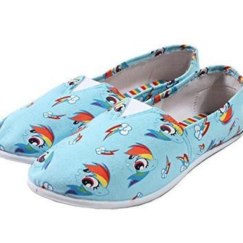 My Little Pony Rainbow Dash Slip-On Shoes (Medium)
