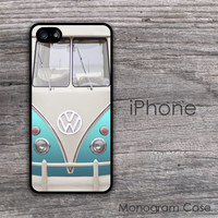 Original turquiose VW bus design iPhone case