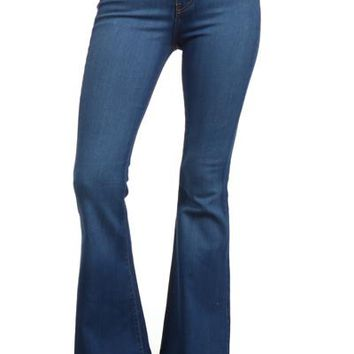 Curvy Plus Bell Bottom Jeans