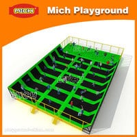 Source MICH big rectangular trampolines on m.alibaba.com