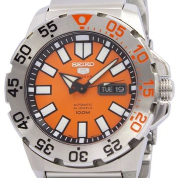 Seiko 5 Sports Automatic Monster SRP483 SRP483K1 SRP483K Men's Watch