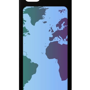 Cool World Map Design iPhone 5 / 5S Grip Case  All Over Print by TooLoud