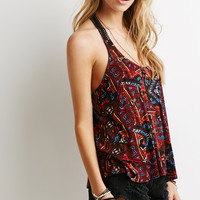 Abstract Tribal Print Tank