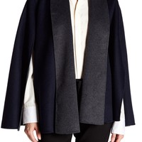 T Tahari | Gabby Wool Blend Cape | Nordstrom Rack