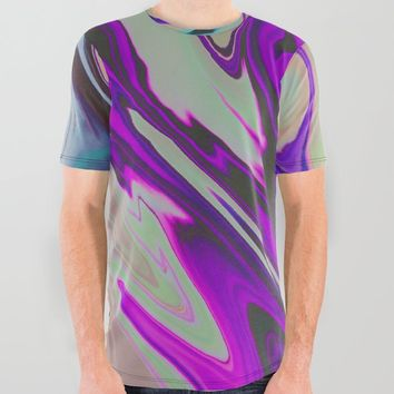 Tear Blinded Eyes All Over Graphic Tee by duckyb