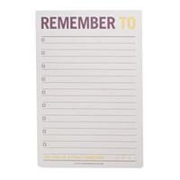 Jumbo Sticky Notes-Remember