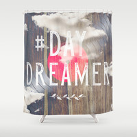 DayDreaming Shower Curtain by HappyMelvin