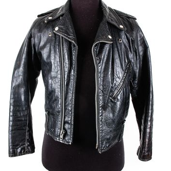 Vintage Harley Davidson Leather Biker Jacket