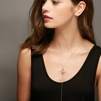Lucky Star North Star Lariat Necklace