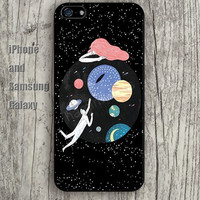 sun moon  stars to fly colorful iphone 6 6 plus iPhone 5 5S 5C case Samsung S3,S4,S5 case Ipod Silicone plastic Phone cover Waterproof