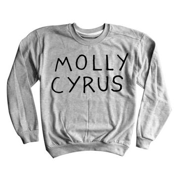 Molly Cyrus Sweatshirt | Miley Cyrus | Twerk | Sweater