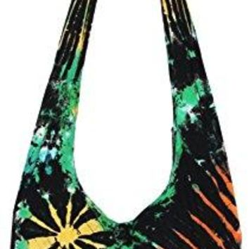 TIE DYE Bohemian Hipster Hippie Boho Hobo Crossbody Bag Purse 38quot