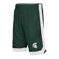 Colosseum Michigan State Spartans Baseline Basketball Shorts