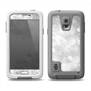 The White Cracked Rock Surface Samsung Galaxy S5 LifeProof Fre Case Skin Set