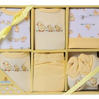 Baby Infants 6 Piece Layette Gift Set