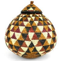 Zulu Wedding Basket -OS23 - Ilala Weavers