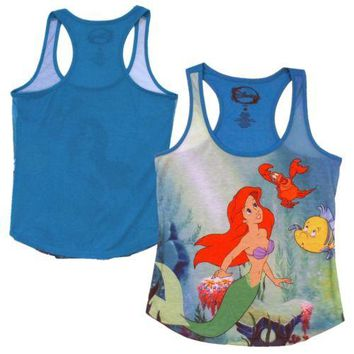 The Little Mermaid Classic Ariel Disney Junior Tank Top