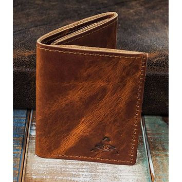 6-Slot Trifold Wallet - The Stanza (Horween Dublin Leather)