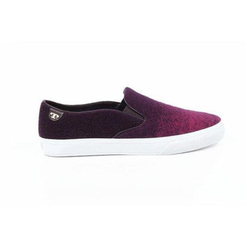 Tory Burch Womens Slip On Sneaker 31158119 15504 PURPLE-PI
