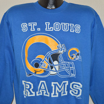 90s St. Louis Rams Sweatshirt Large
