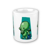 Sleepytime Cthulhu Mug from Zazzle.com